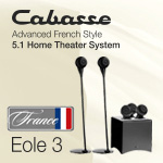 Cabasse 5.1 Home Theater System Eole3