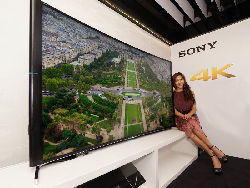 Sony 全新 BRAVIA S9000B 系列展現完美弧度帶來的震撼畫面