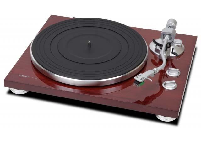 結合現代元素之黑膠唱盤 TEAC TN-350