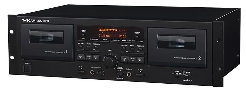 日本 TASCAM 推出卡式錄音機 202MKVI