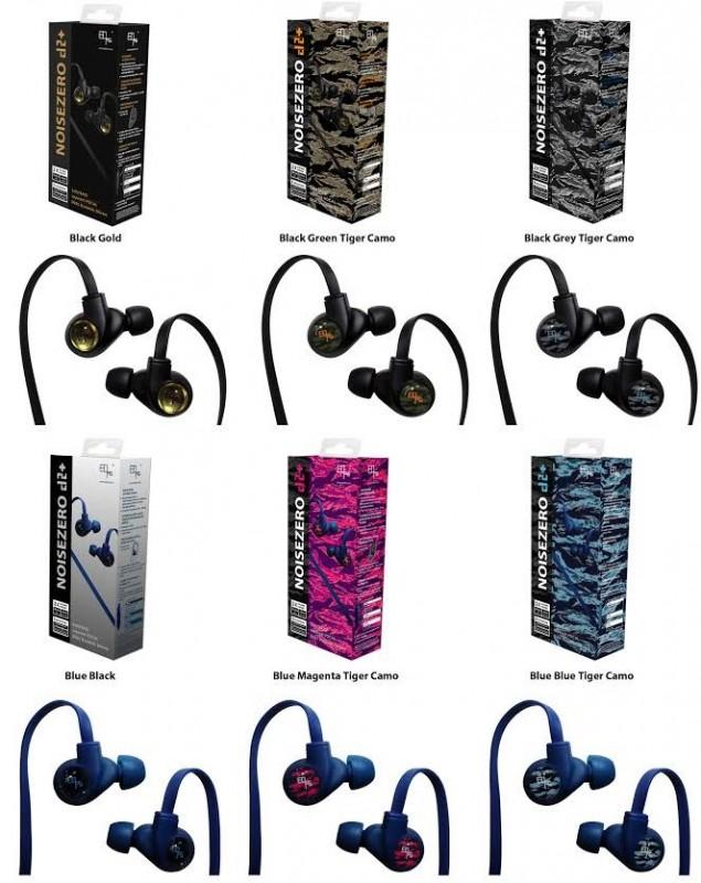 EOps NOISEZERO d2+ 雙動圈單元耳機