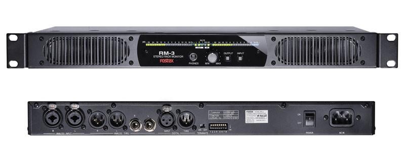 FOSTEX 推出內置 DAC 及放大器的平面顯示器用揚聲器 RM-3