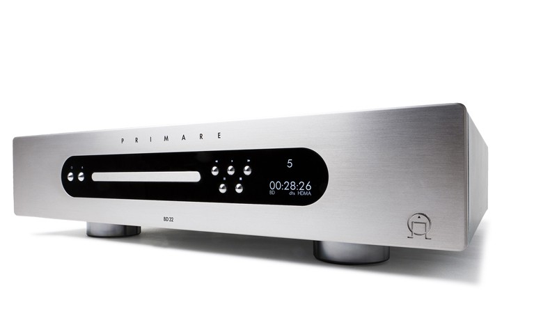 PRIMARE 推出第二代 Blu ray Player BD32 MK2