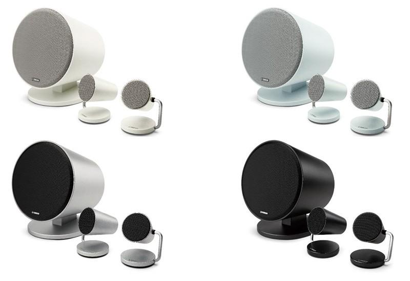 YAMAHA 推出具藍牙功能的 2.1 聲道衛星型喇叭