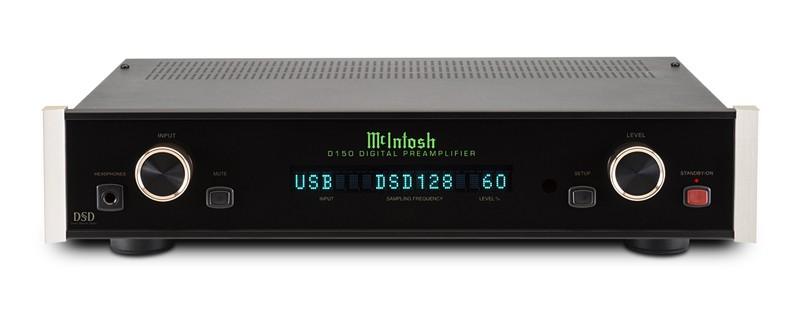 McIntosh 推出對應 DSD 及 DXD 的解碼 DAC D150