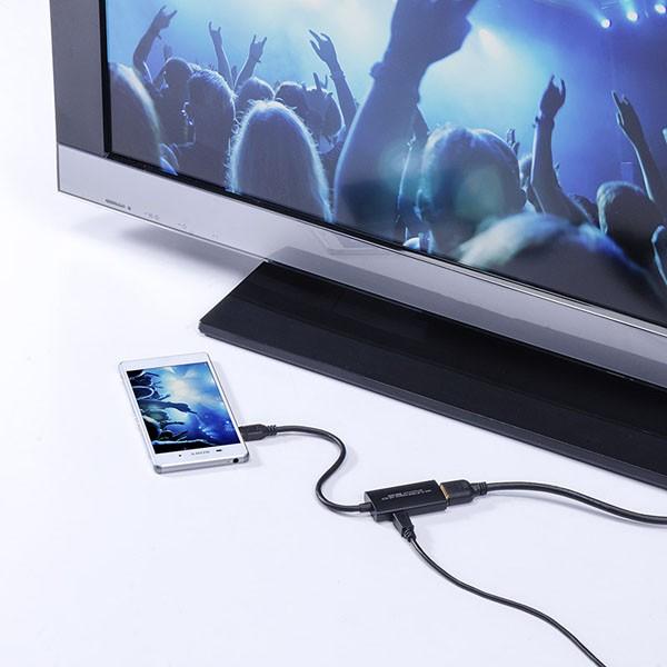 日本 SANWA 推出了對應4K高清的MHL3.0轉HDMI接頭