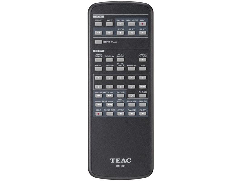 TEAC 推出具 CD-R 及卡式錄音帶雙功能錄音座 AD-RW950