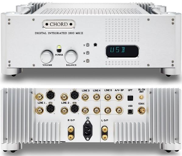 Chord 推出全新 CPM 2800 MkII 解碼兼合併放大器