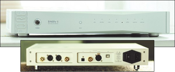 Fore Audio 推出全新支援 DSD 的解碼 DAISy 1 DAC