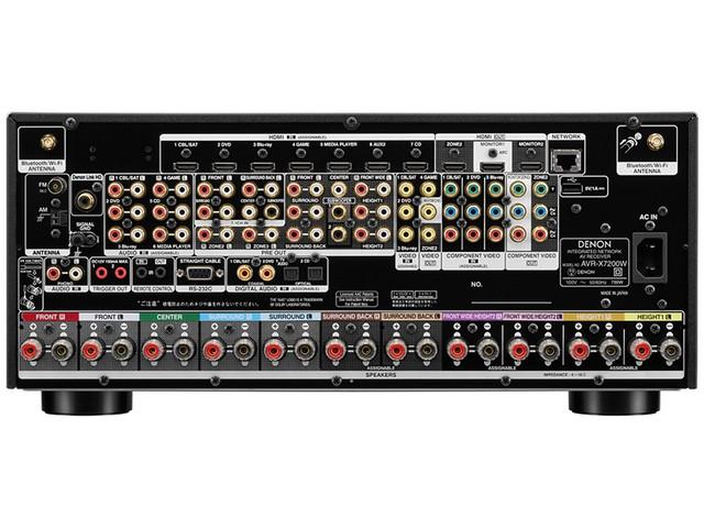 DENON 推出支援 HDCP 2.2 及 DTS:X 的 AV AMP 「AVR-X7200WA」