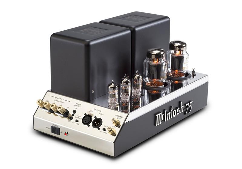 McIntosh 復刻二步曲:真空管單聲後級放大器 MC75