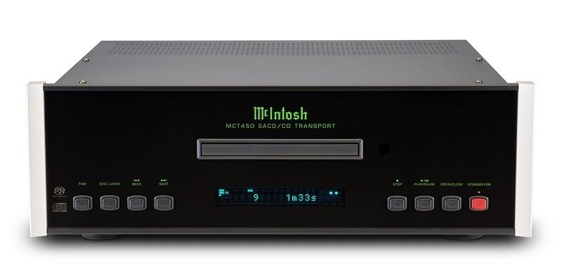 McIntosh 推出全新 MCT450 CD / SACD 純轉盤