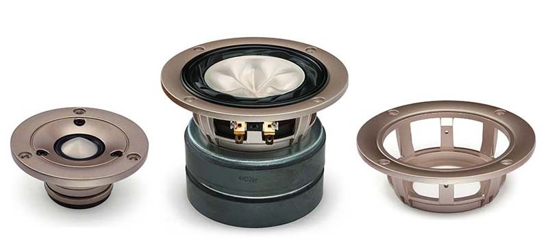 FOSTEX 推出純鎂振膜座地喇叭 G1003MG
