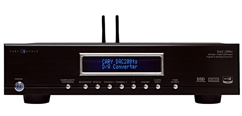 Cary Audio 推出全新的多功能解碼 DAC-200TS