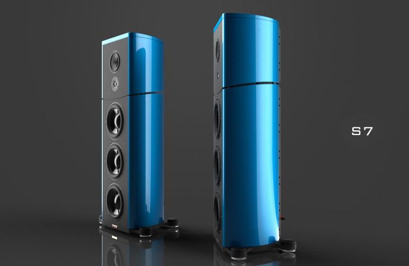 Magico 推最新曲線造型的 S 系列座地喇叭 S7