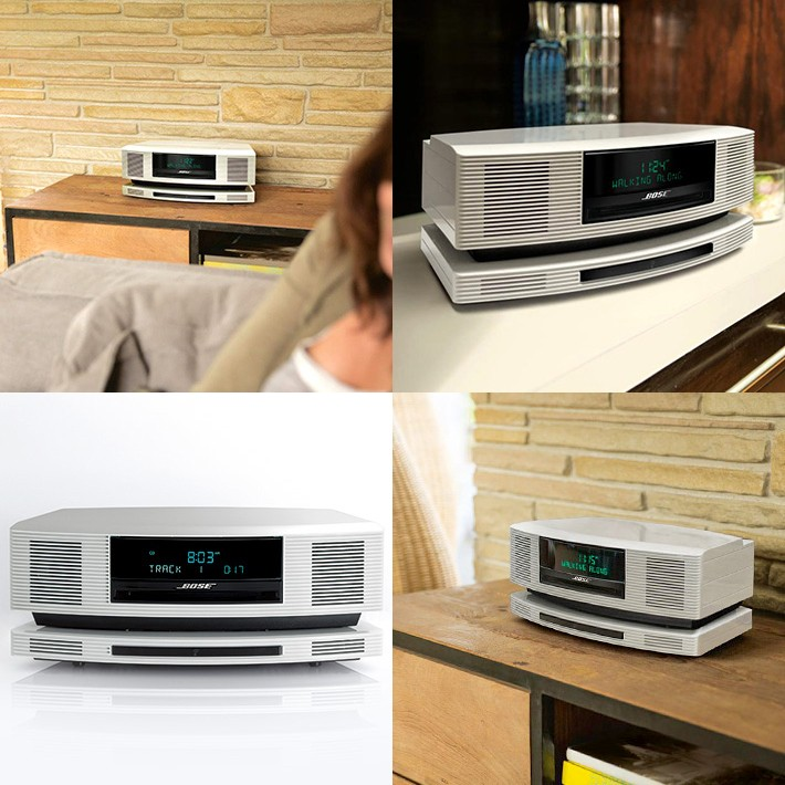 Bose 推出 50 週年紀念型號 Wave SoundTouch music system High-Gloss Pearl