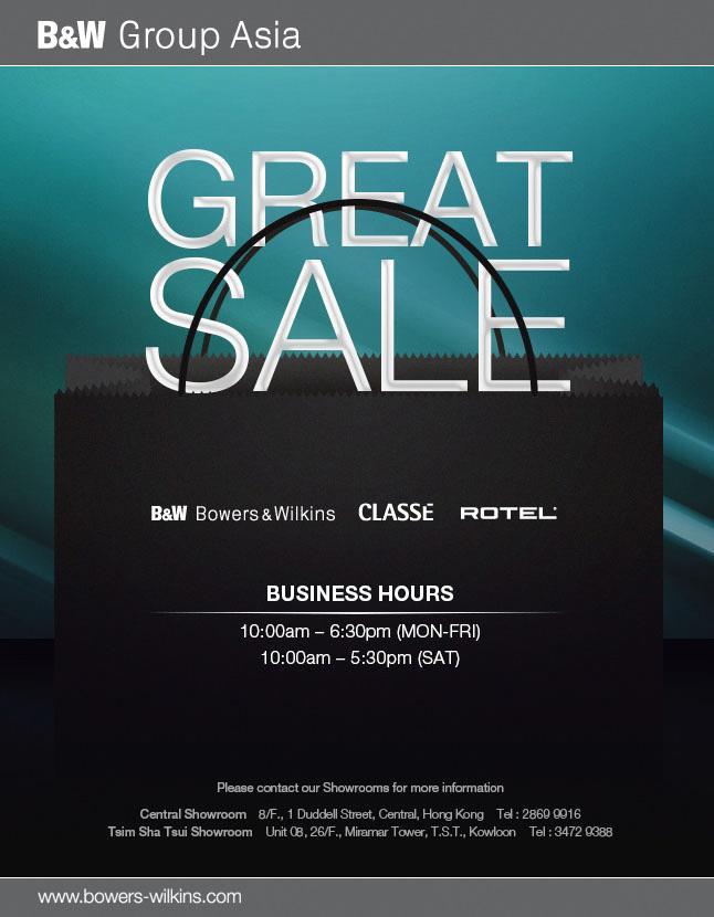 B&W Great Sale