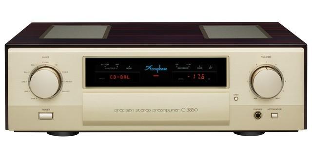 ACCUPHASE 推出 C-3800前級的後繼機型前級C-3850