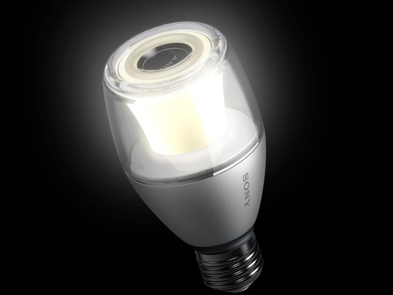 Sony 推出全新 Life Space UX 系列產品 LED 燈泡藍牙喇叭