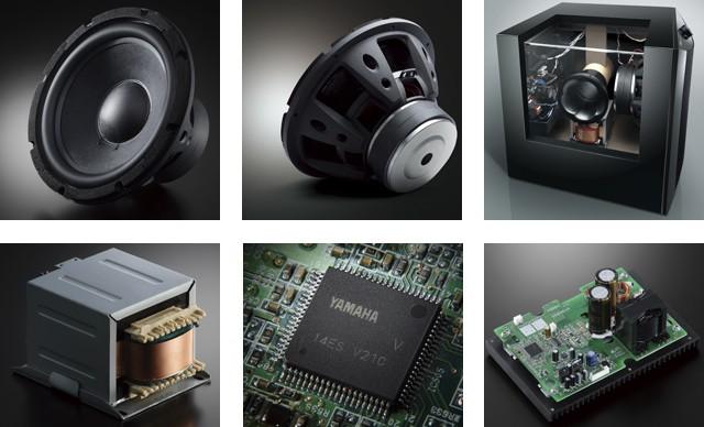 YAMAHA發表內藏 D 類 1KW 放大器超低音喇叭 NS-SW1000