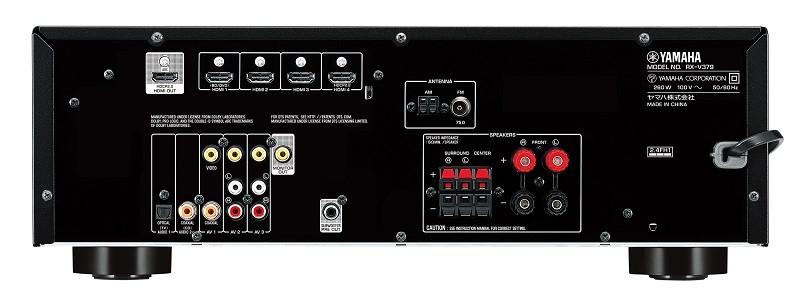 YAMAHA 推出對應藍牙及4K功能入門AV AMP RX-V379