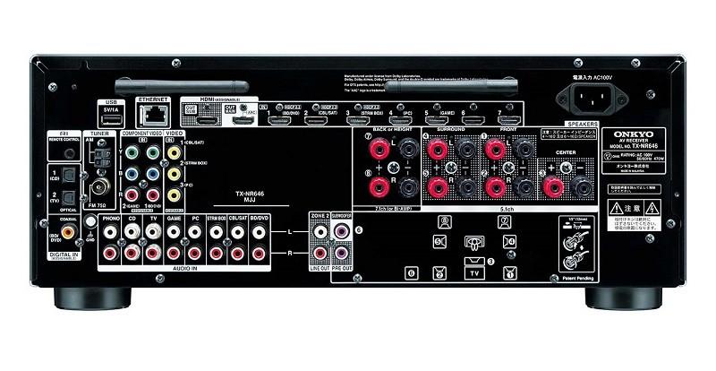 ONKYO 推出對應 Atmos / DTS:X 的 AV 環繞聲放大器 TX-NR646