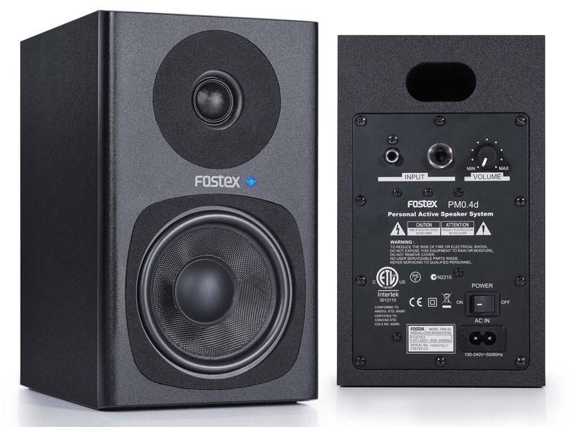 FOSTEX 推出兩款有源喇叭 PM0.4d 及 PM0.5d