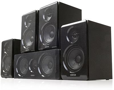 Edifier DA5100 5.1 霸氣組合音響 坐擁殿堂級聲樂享受