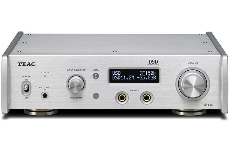 TEAC 推出全新 UD-503 對應 DSD 11.2MHz 解碼 / 耳機放大器