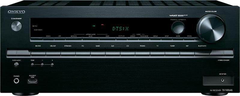 ONKYO TX-NR646 7.2 聲道網絡家庭影院擴音機