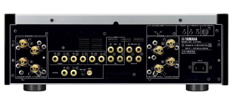 Yamaha 推出全新二聲道合併式放大器 A-S1100