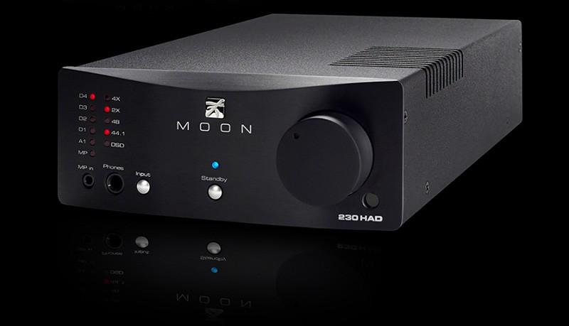 MOON 推出全新230HAD Headphone Amplifier / DSD DAC