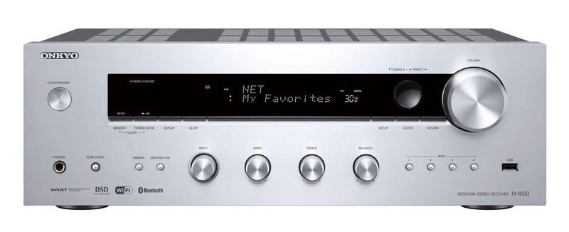 ONKYO 推出內置 DAC 及放大器的網絡播放器 TX-8150
