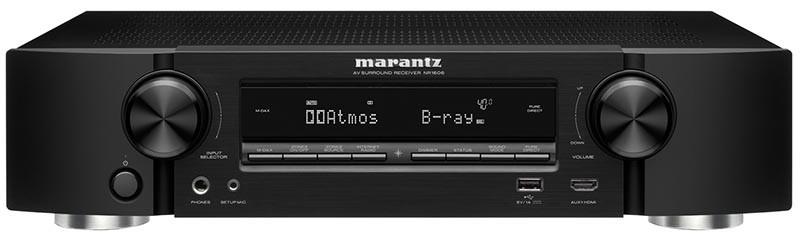 Marantz 推出對應Atmos/DTS:X的薄型AV AMP NR1606