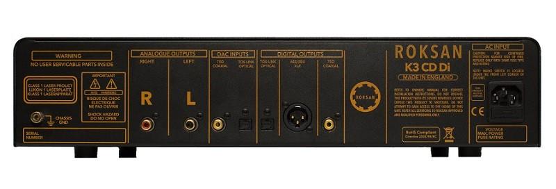 Roksan 推出內置 DAC 的 K3 CD Di CD 播放器