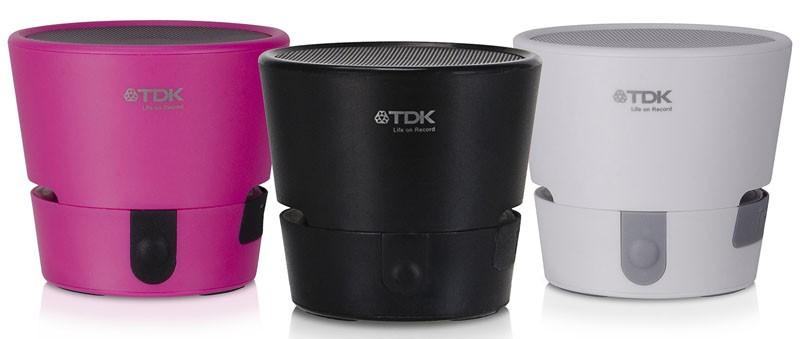 TDK 推出具無源輻射器的杯形藍牙喇叭