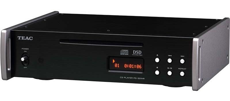TEAC 推出 DSD 兼容 CD 播放機 PD-501HR-SP 特別版