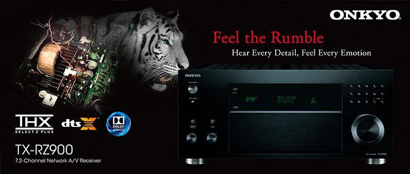 ONKYO TX-RZ800 及 TX-RZ900 最新網絡家庭影音擴音機