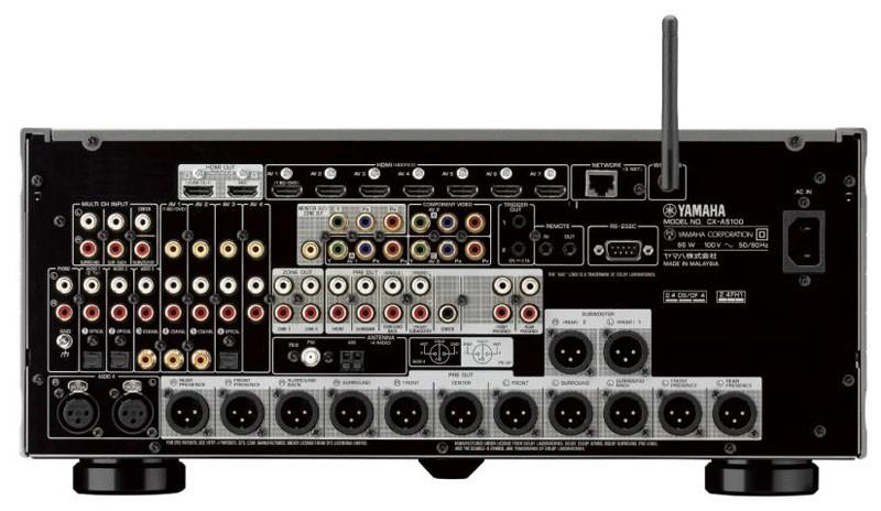 YAMAHA 推出對應 Dolby Atmos / DTS : X 的環繞聲旗艦前級 CX-A5100
