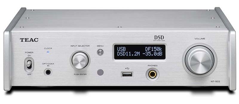 TEAC 推出 DLNA 絡網播放 USB 解碼 NT-503