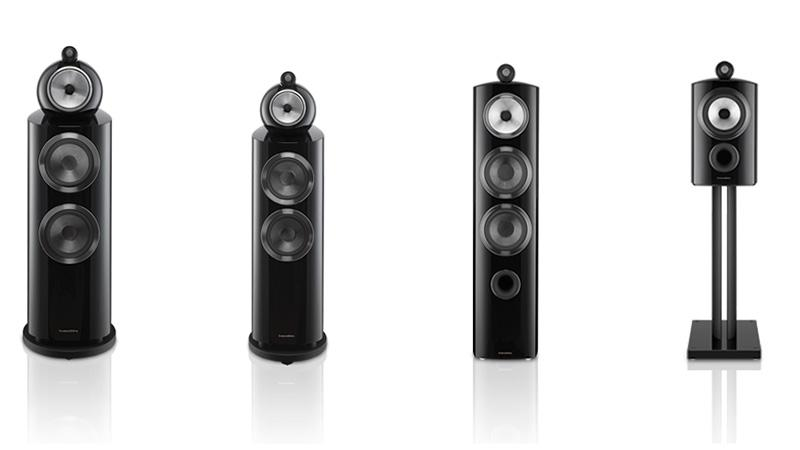 B&W 發佈全新 800 Series Diamond 揚聲器系列