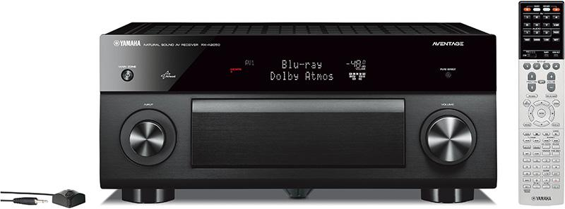 Yamaha AVENTAGE 系列擴音機 RX-A2050 及 RX-A3050