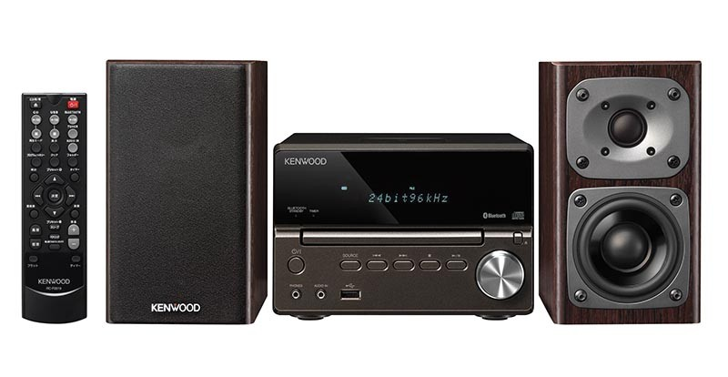 Kenwood 推出 Hi-Resolution Audio 小型音響組合系列 Kseries