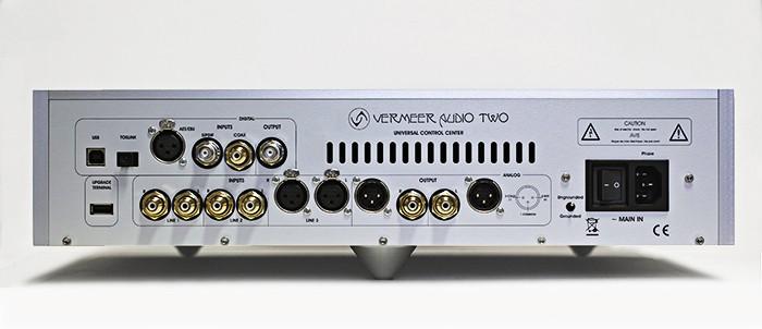 VERMEER AUDIO 推出首台解碼 / 前級放大 AudioTwo
