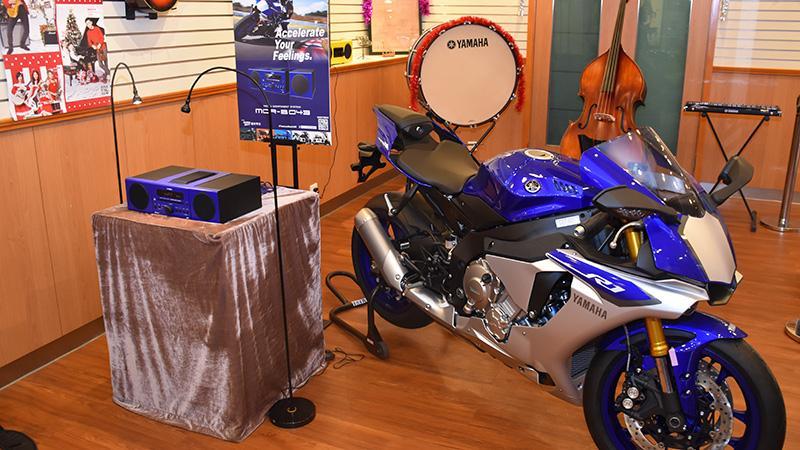 Yamaha 首部以電單車為設計概念的微型音響