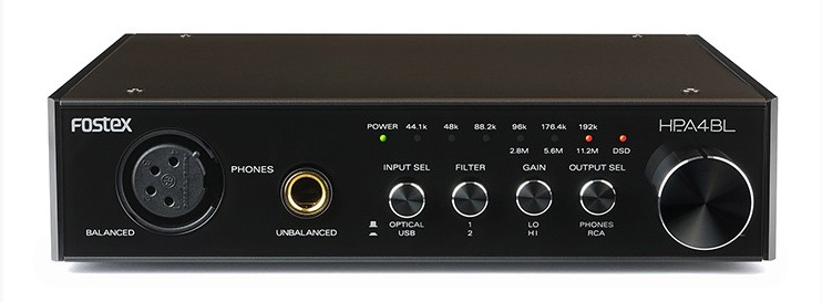 FOSTEX 推出全新 USB DAC / 耳機放大器 HP-A4BL