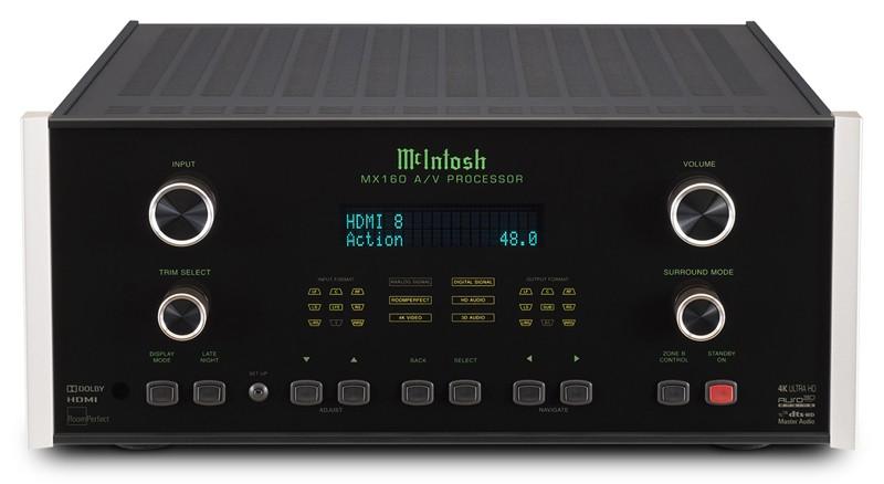 McIntosh 推出全新 AV 環繞聲旗艦前級 MX160
