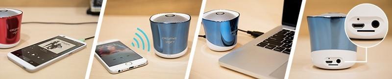 Creative 推出四種玩法的藍牙喇叭 Creative Woof 3