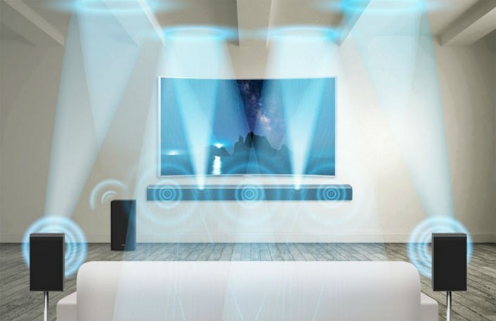 SAMSUNG 於 CES 2016 展出全新對應 Dolby Atmos 的環繞聲 Soundbar