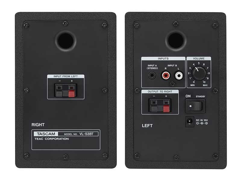 TASCAM 推出具藍牙功能有源喇叭 VL-S3BT
